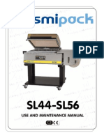 SMIPACK DM210191 - use and maintenance manual SL44-SL56