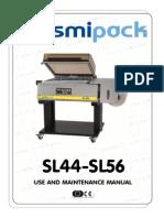 SMIPACK DM210191 - use and maintenance manual SL44-SL56