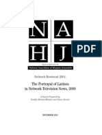 2001 NAHJ Network Brownout Report