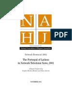 2002 NAHJ Network Brownout Report