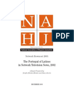 2003 NAHJ Network Brownout Report