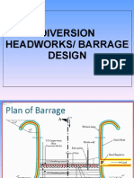 Weir and Barrages