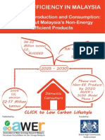 Energy Efficiency in Malaysia