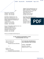 SCO Grp v. Novell Inc - Document No. 381
