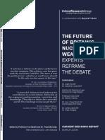 2006 ORG CDR Trident Debate