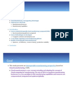 Cloud manufacturing theory
