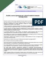 Erydel, nuove speranze per i piccoli malati di atassia-telangiectasia - Lettera43.it, 28 luglio 2015