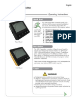 Signet 9900 Instruction Manual Rev A2