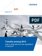 Transfer pricing 2015 - How to deal with the new regulations in Ukraine? | News Flash