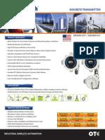 Discrete Transmitter Datasheet OTC