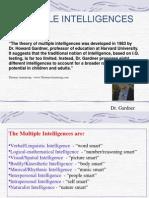 Multiple Intelligences2011 12