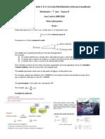 Ficha informativa razão e proporção