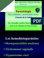 Hemohistoparásitos.