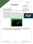 UsingMicrosoftExcel1-GettingStarted