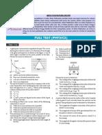 Full Test (Physics)