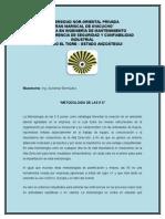 Metodologia de Las 5 S. Ing. Aurismar Bermúdez.