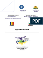 Applicant's Guide RO BG cross border