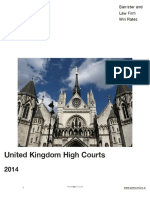 UK High Courts 2014 -S-2 | Barrister | Law Firm