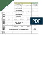 HoRTI Orar Sem II 2014-2015