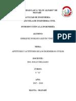 Aptitudes y actitudes de los ingenieros civiles Kevin Enriquez.docx