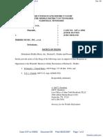 Word Music, LLC et al v. Priddis Music, Inc. et al - Document No. 69