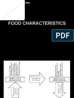 Food Characteristics