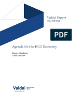 Agenda for the EEU Economy