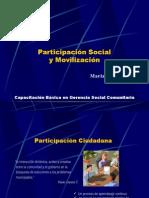 Participacion Social y Movilización