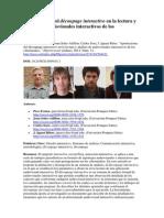 Aportaciones del découpage interactivo en la lectura y análisis de audiovisuales interactivos de los cibermedios.