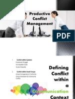 PRESENTACIÓN - Productive Conflict Management