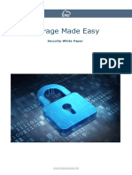 File Sharing and Security overview for the Storage Made Easy EFSS Solution