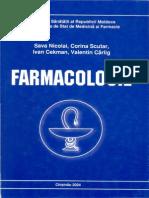 Farmacologie - Sava N, C. Scutar, I. Cekman, V. Cârlig
