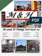 2015 Catalogue M&H Pumps