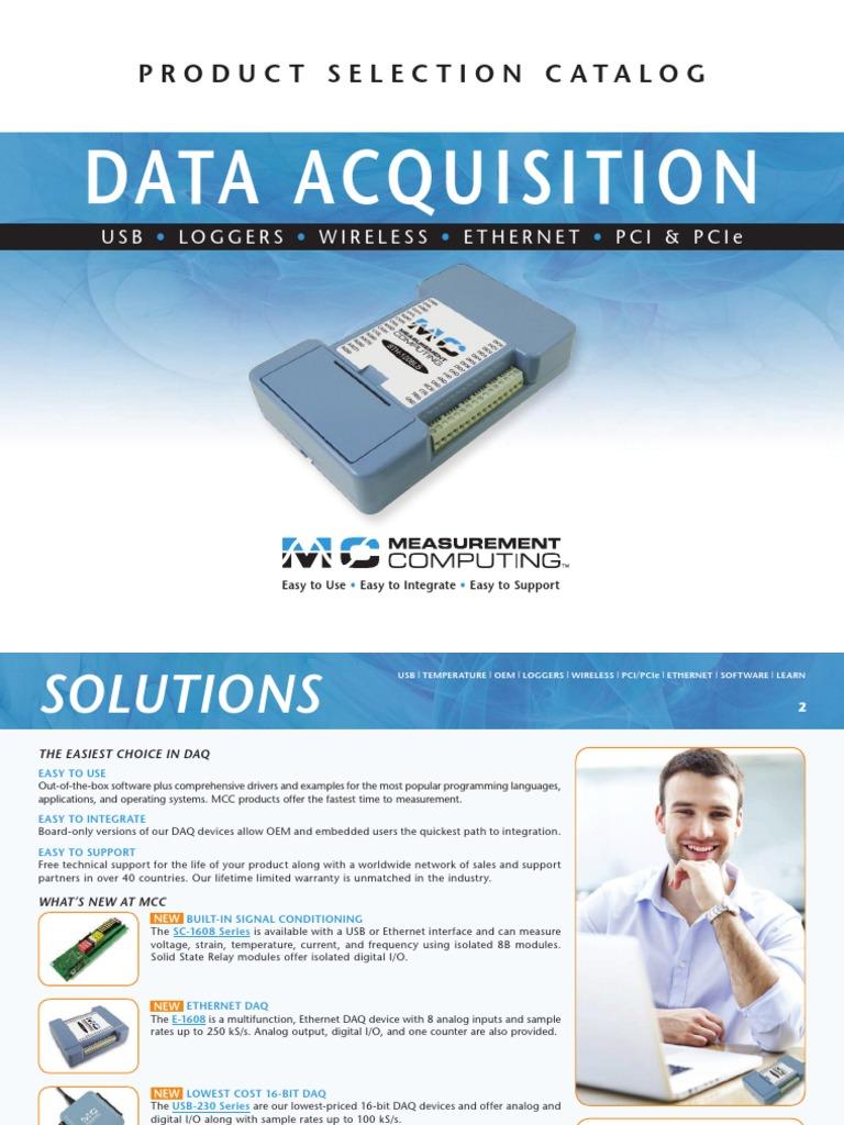 Measurement Computing BTH-1208LS Bluetooth Data Acquisition Module