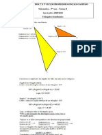Triangulos semelhantes