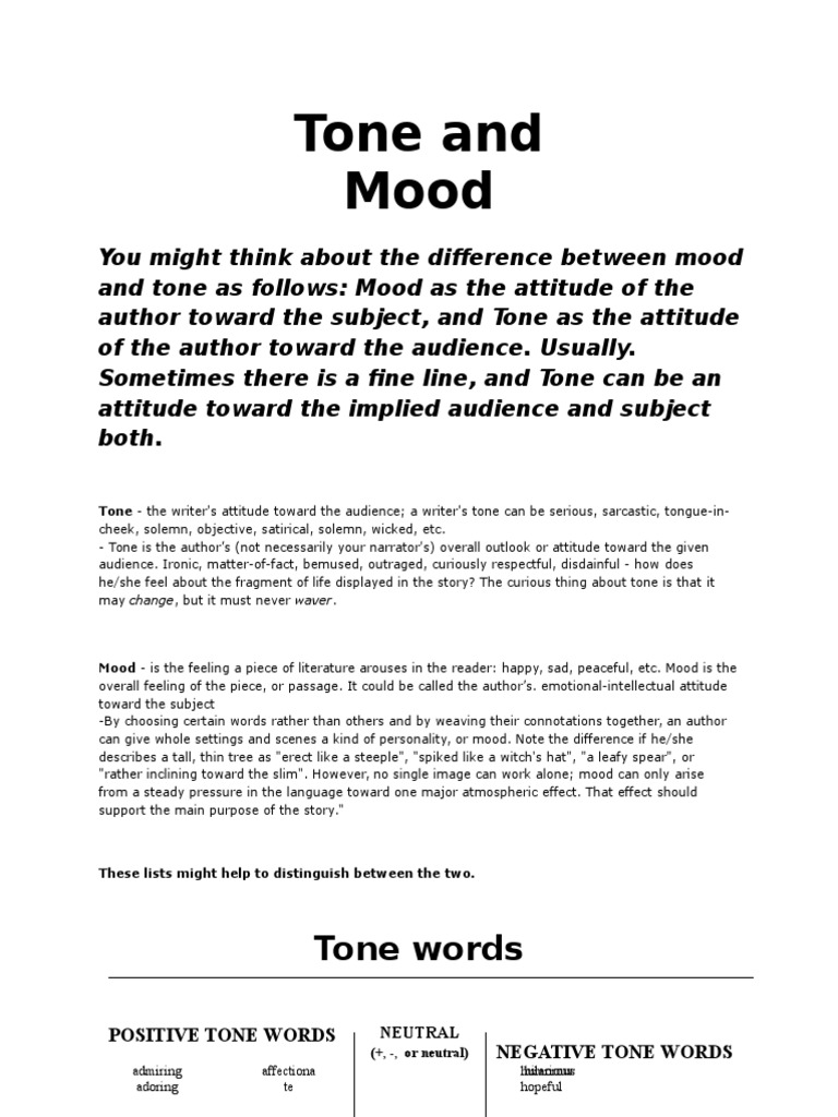 tone and mood in sinners in Watch video recognizing tone and mood when reading is an.