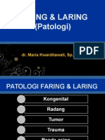 Faring & Laring Patologi