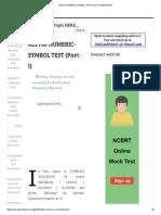 Alpha-numeric-symbol Test (Part-i) _ Gr8ambitionz