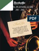 Nashville Meeting Planning Guide 2015-16