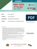 Benny Syahputra 224220member CD