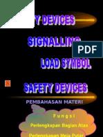 06. Safety Device, Kom, Simbol Barang