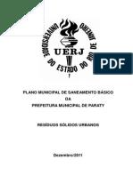 Plano Municipal de Saneamento - Residuos Sólidos