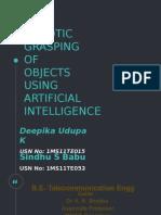 Robotic Grasping.....Intelligence