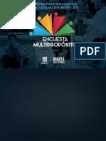 Cartilla Encuesta Multiproposito Bogotá 2014