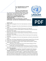 High Level Partnership Forum Opens in Somalia, Takes Stock of Progress Made