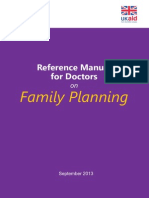 Reference Manual for Doctors on Family Planning and Reproductive Health