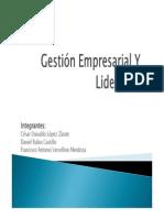 Gestión Empresarial y Liderazgoexposicion U1