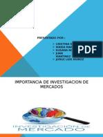 Importancia de Estudio de Mercado y Fuentes de Informacion Actividad2