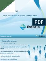 AULA 03 - PRODUÇÃO TEXTUAL I..ppt