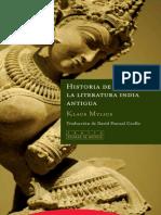 Historia de La Literatura India Antigua - Mylius, Klaus
